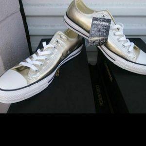 Converse Unisex Shoes Chuck Taylor Light Gold